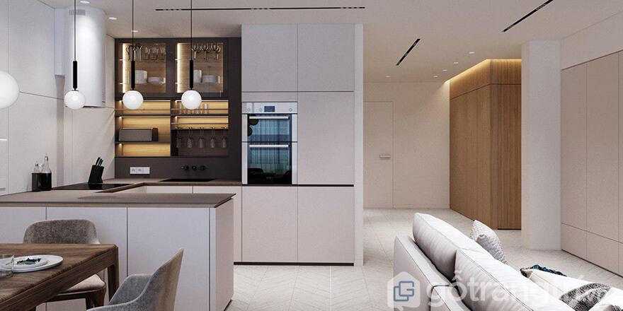 Thiết kế căn hộ Hateco Laroma 87m2