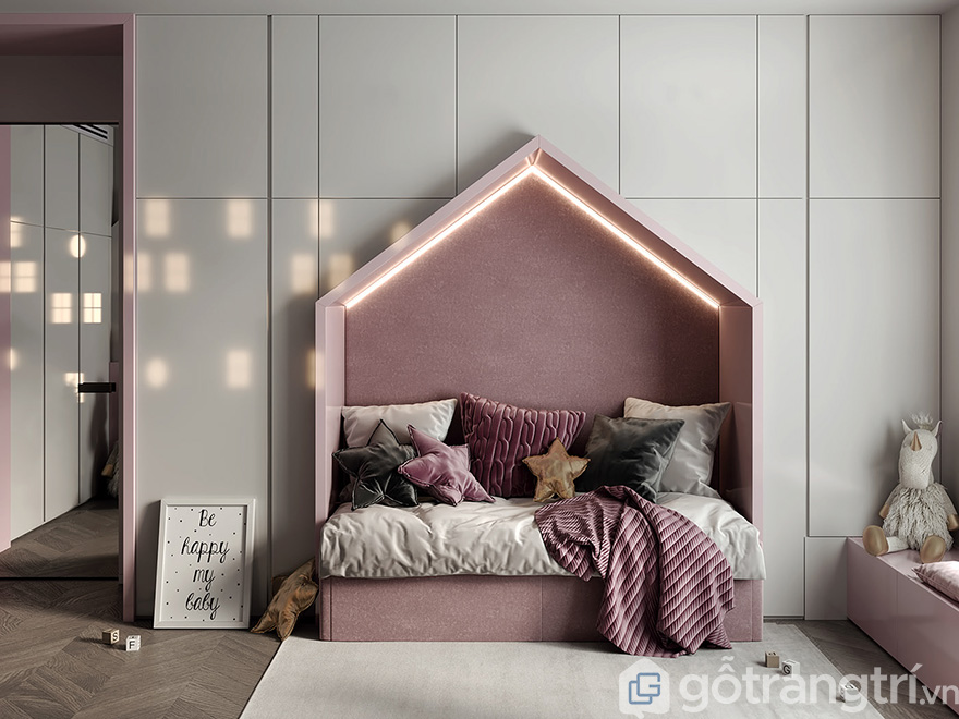 thiết kế nội thất căn hộ Eco Lake View 3 phòng ngủ