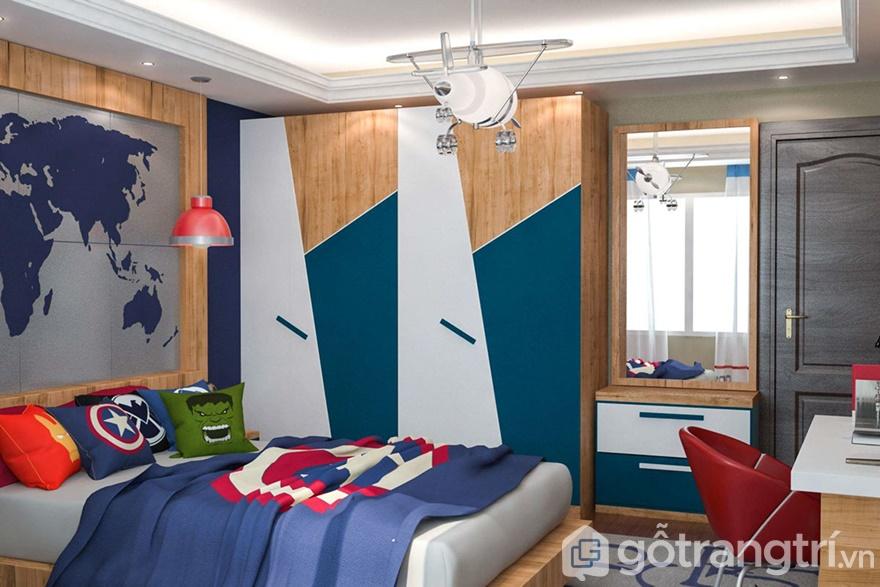 Yêu cầu thiết kế căn hộ của anh Tuấn tập trung vào thiết kế phòng ngủ