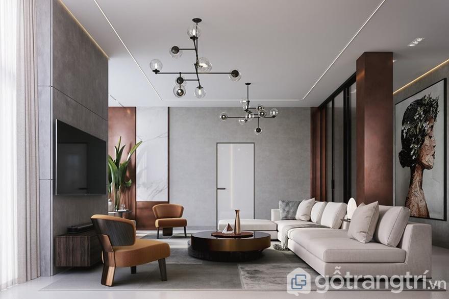 Phương án thiết kế nội thất căn hộGolden Park Tower 3 phòng ngủ
