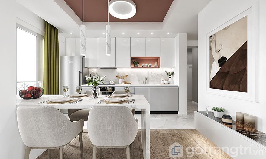 Thiết kế nội thất chung cư Eco Lake View