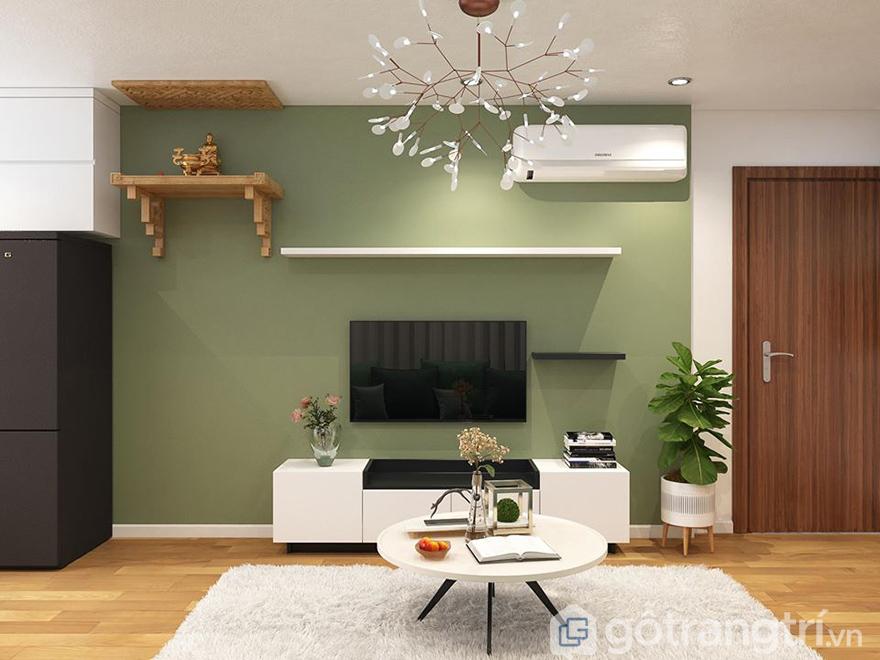 Thiết kế nội thất chung cư FLC Garden City 84m2