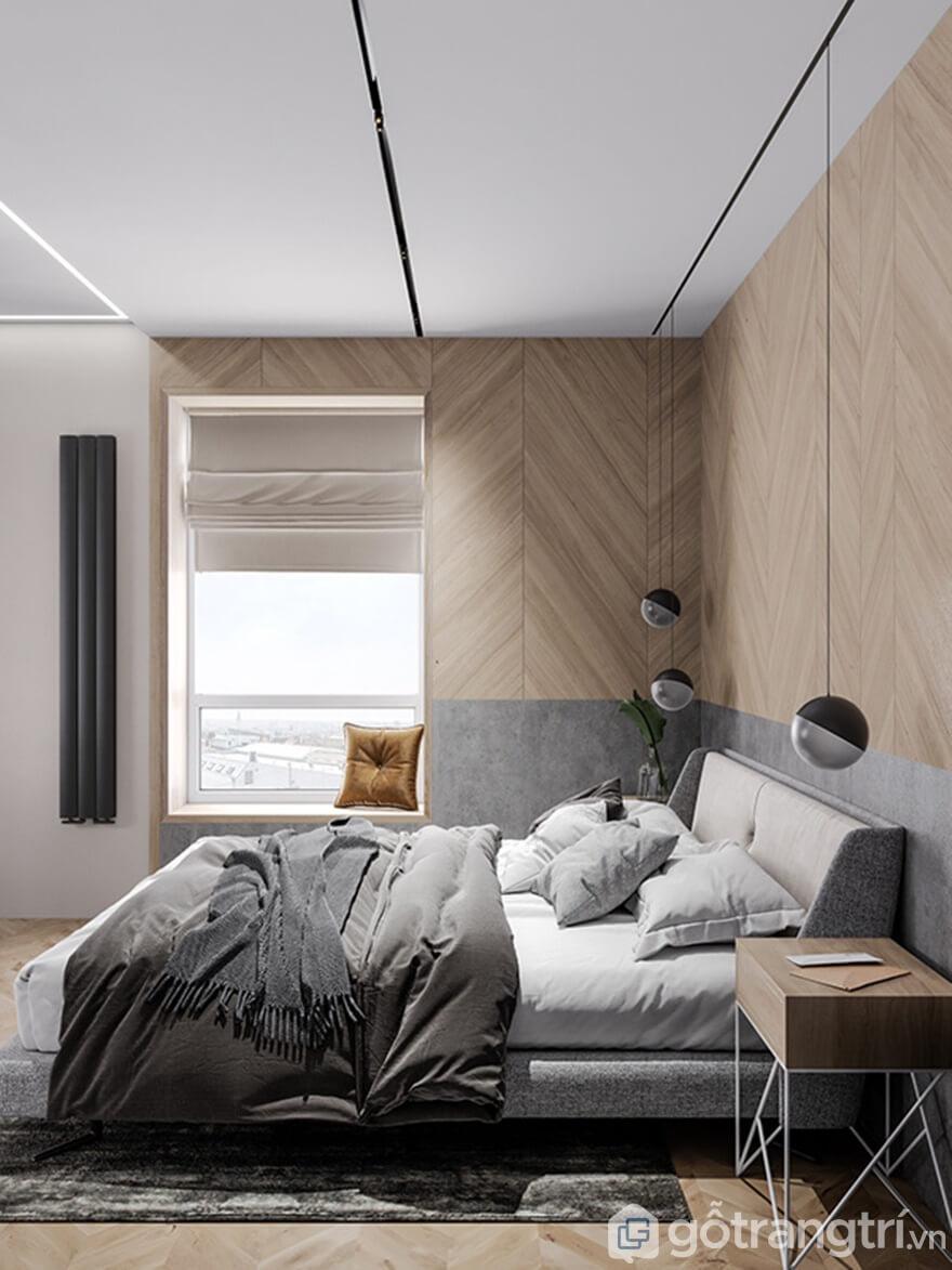 Từng chi tiết, nội thất phòng ngủ được chăm chút kỹ lưỡng