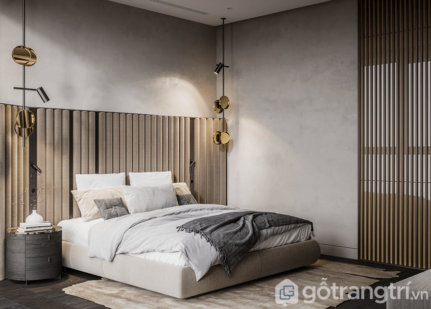 Phòng ngủ dù ở mọi góc nhìn khác nhau đều toát lên sự gọn gàng, ngăn nắp