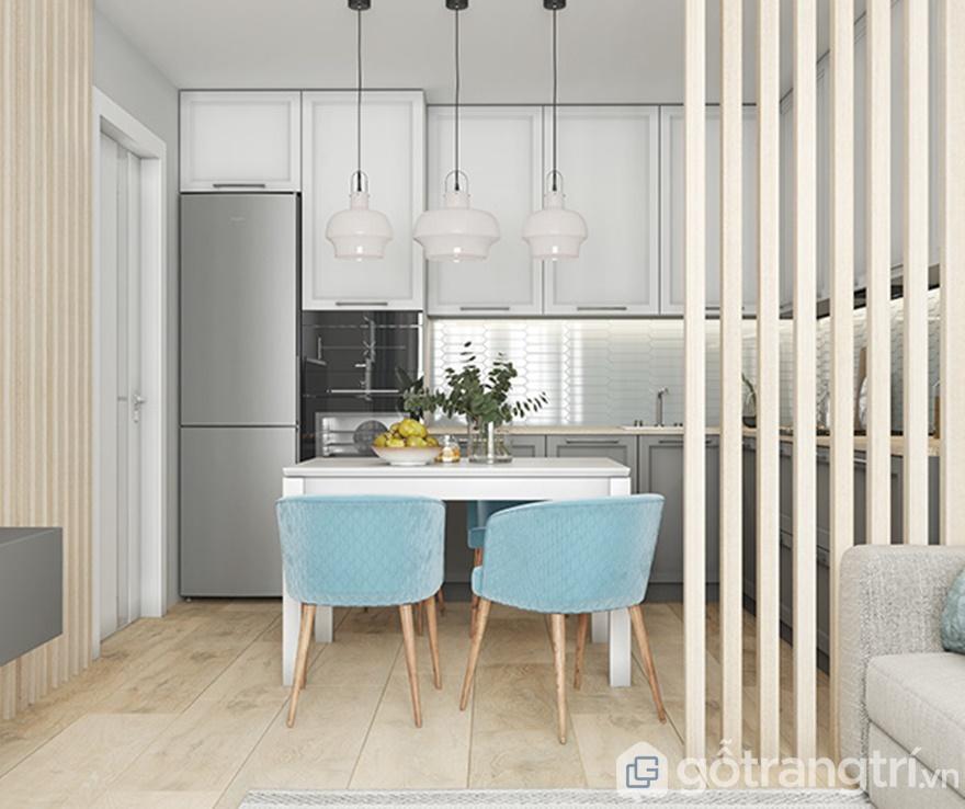 Thiết kế căn hộ Samsora Premier 105 2 phòng ngủ: Phòng bếp