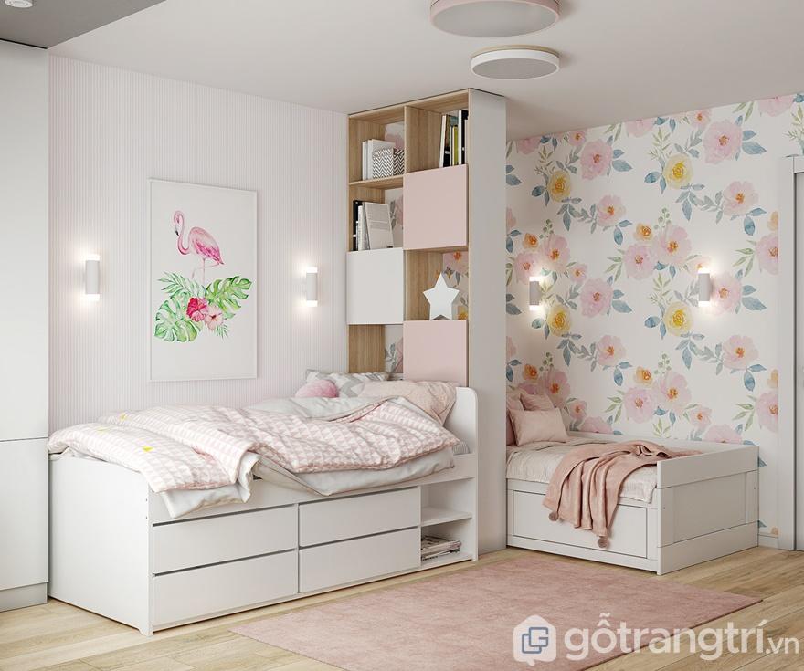 Thiết kế nội thất Samsora Premier 105 80 m2, 2 phòng ngủ