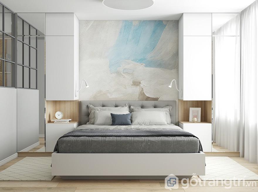 Thiết kế nội thất phòng ngủ master hiện đại