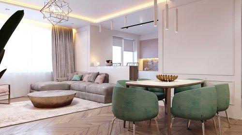 Giới thiệu dự án thiết kế nội thất căn hộ chung cư D2 Giảng Võ