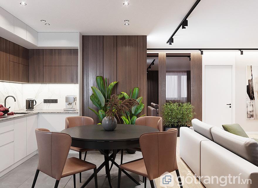 thiết kế nội thất căn hộ chung cư Park Kiara
