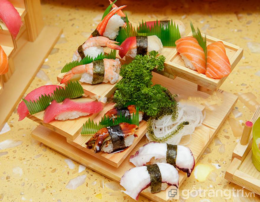 Khay-go-bac-thang-trang-tri-Sushi-Sashimi GHS-6674 (3)