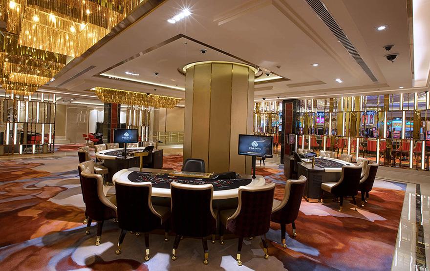 Nội thất casino hiện đại