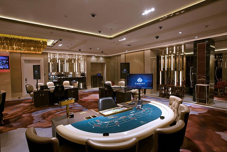 Nội thất casino đẹp