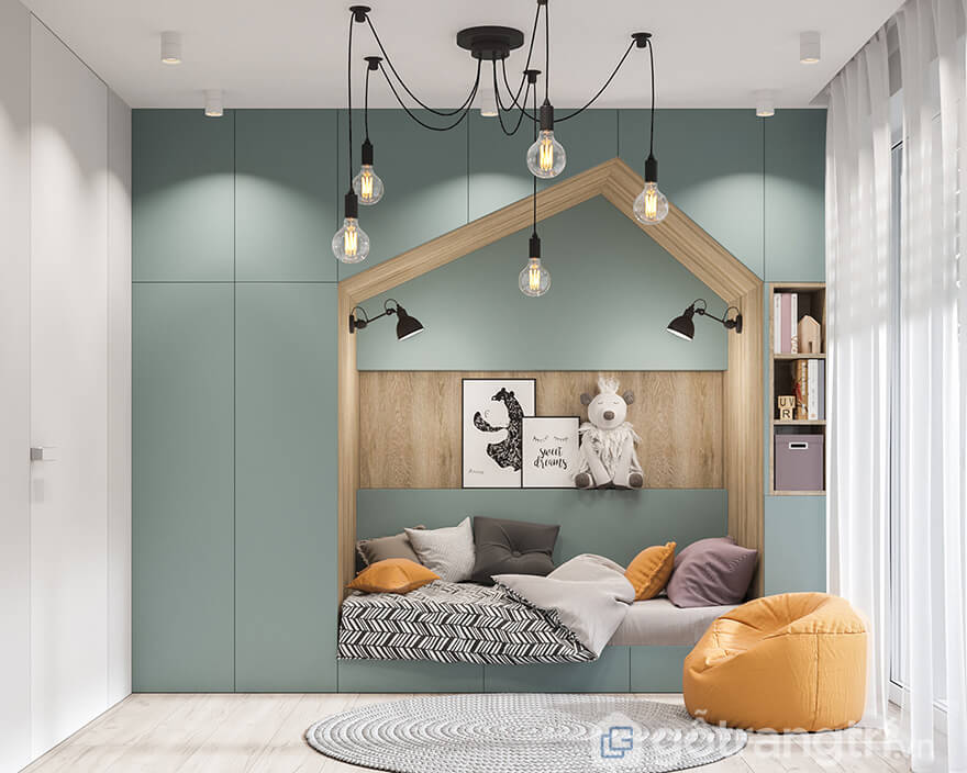 Phong cách thiết kế chung cư Bea Sky Bắc Âu