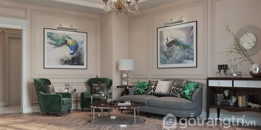 Phong cách thiết kế chung cư Bea Sky Nguyễn Xiển tân cổ điển