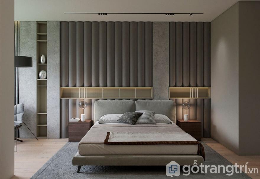 Thi công nội thất Samsora Premier 105 70m2: Phòng ngủ