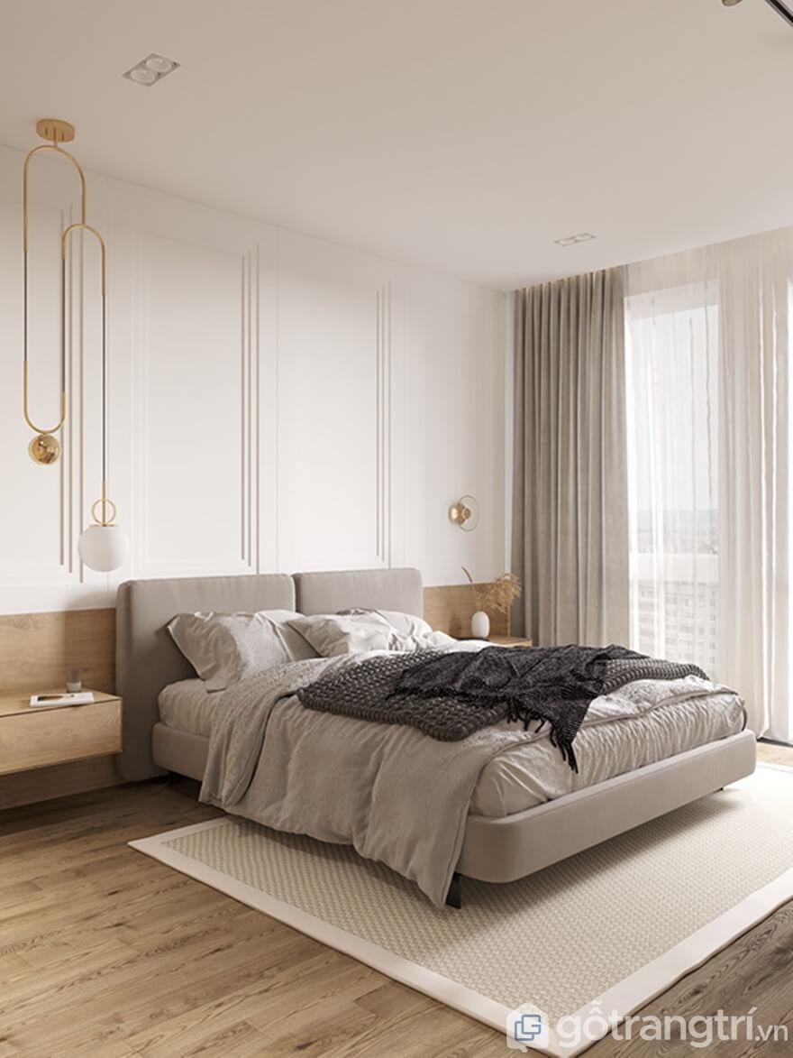 Giải phápthiết kế căn hộ Cầu Giấy Center Point 2 phòng ngủ