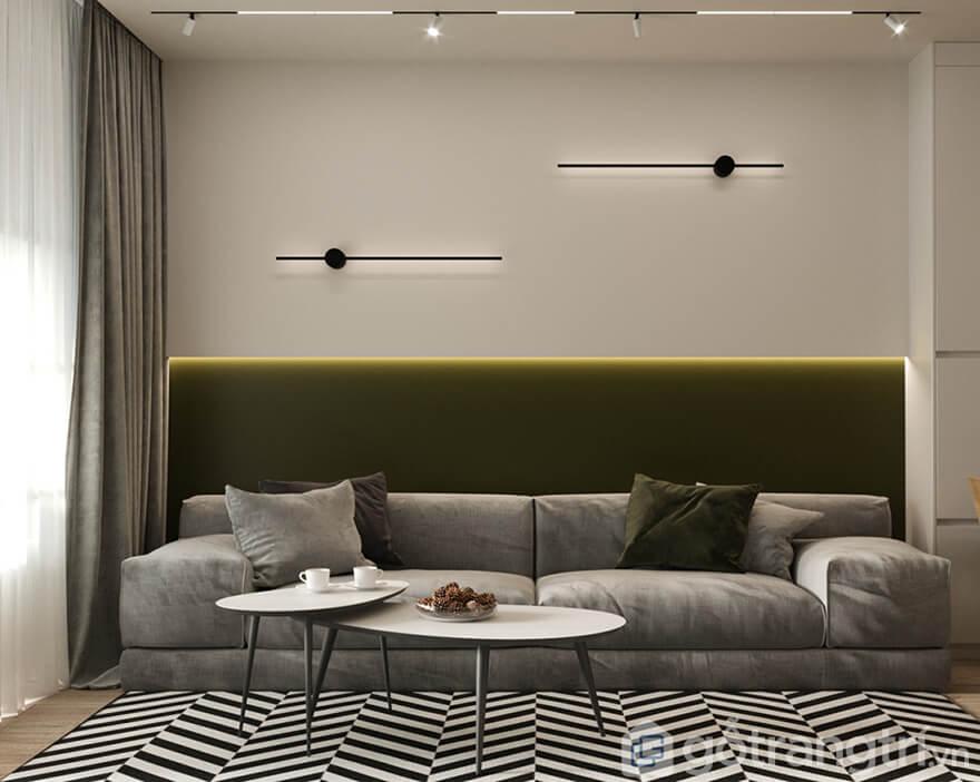 Thiết kế căn hộ Ecohome 3 nhỏ