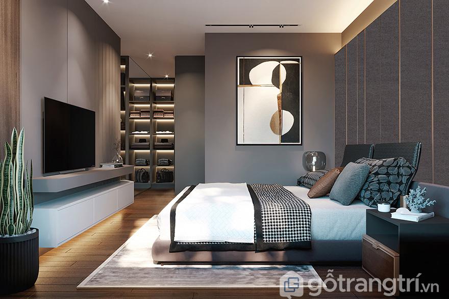 Thiết kế nội thất chung cư 3 phòng ngủ Park Kiara