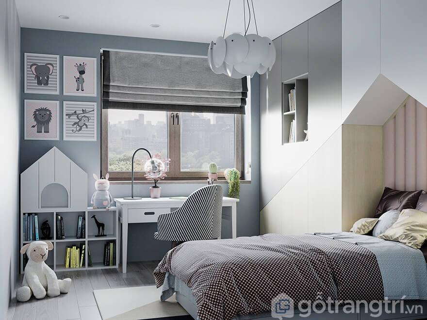 Thiết kế căn hộ Ecohome 3 phong cách hiện đại