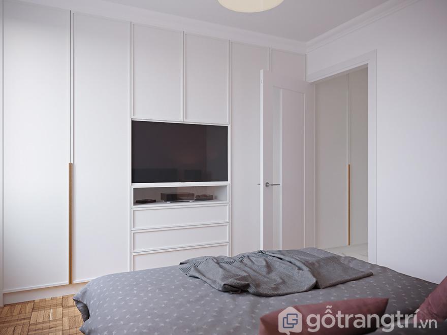 Thiết kế nội thất chung cư 68m2 Bea Sky Nguyễn Xiển