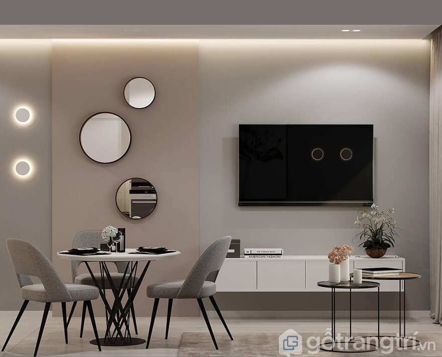 Thiết kế chung cư Ecohome 3 2 phòng ngủThiết kế chung cư Ecohome 3 2 phòng ngủ