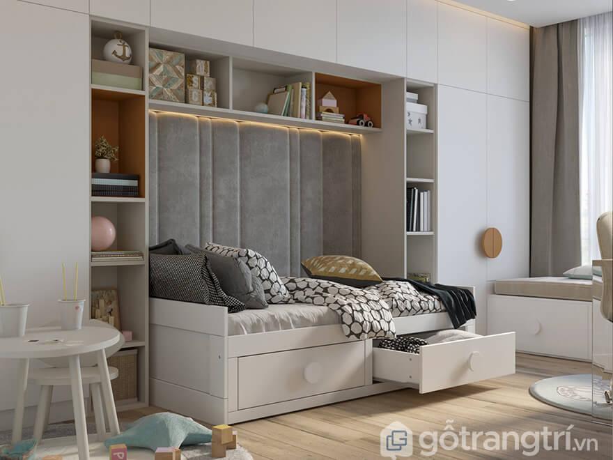 thiết kế nội thất chung cư Ecohome 3