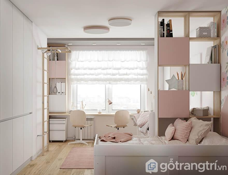 Gotrangtri.vn - Thiết kế nội thất chung cư Samsora Premire 105
