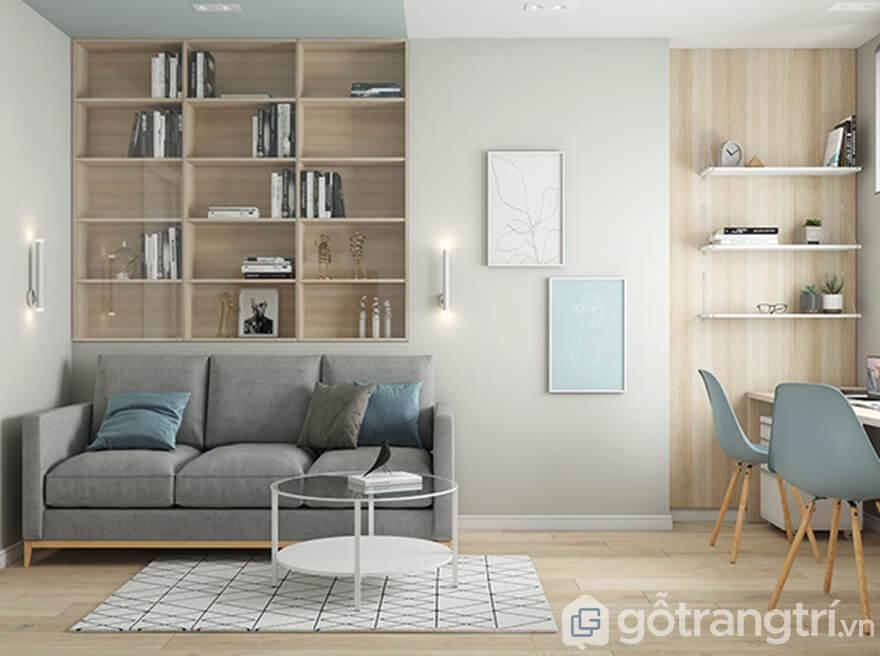 Thiết kế nội thất chung cư Samsora Premier 105 sang chảnh