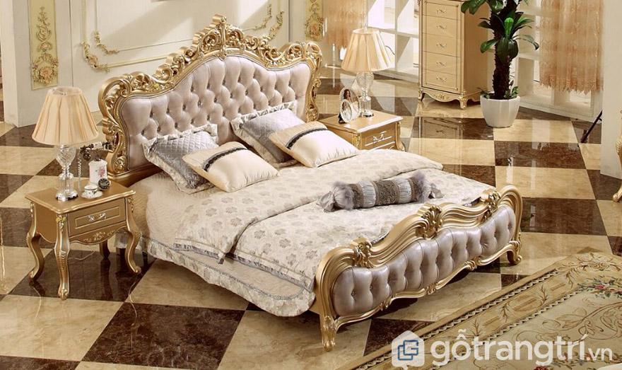bộ giường ngủ hoàng gia