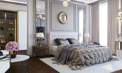 Điểm danh những combo giường ngủ tân cổ điển sang trọng 2020