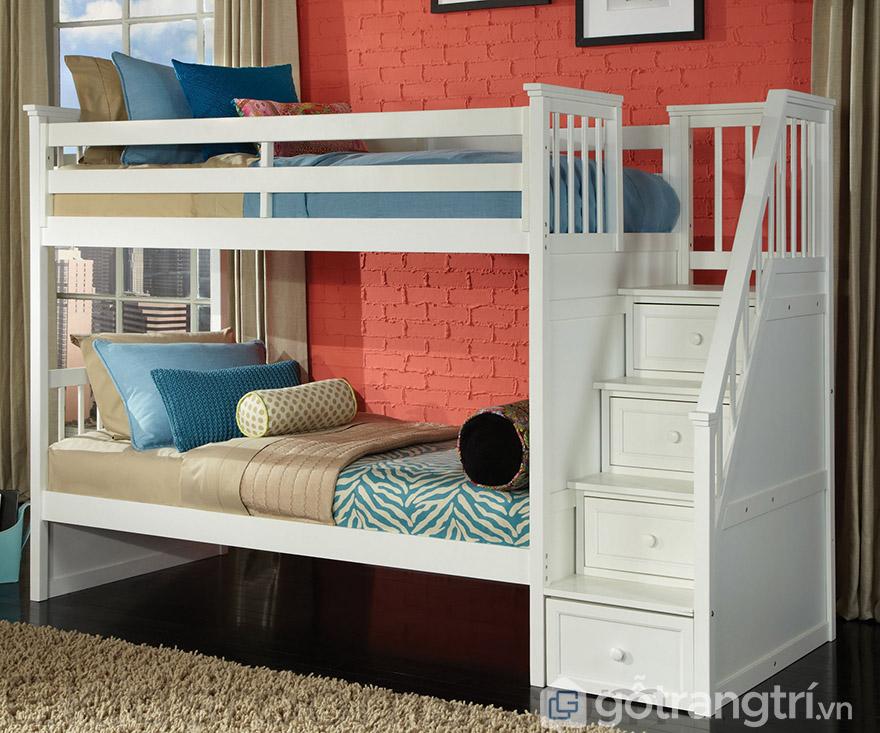 Giường thông minh 1m2 thiết kế 2 tầng