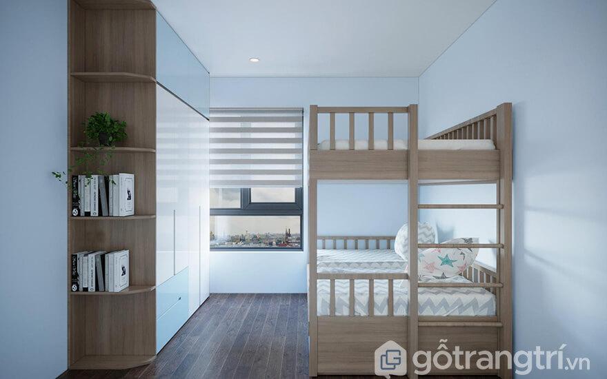 Thiết kế nội thất căn hộ PCC1 Thanh Xuân 76m2