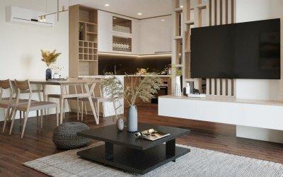 Thiết kế nội thất chung cư PCC1 Thanh Xuân 76m2