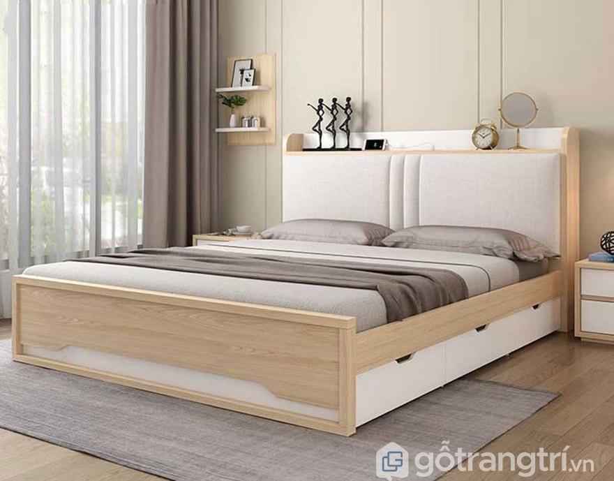 Bộ giường ngủ MDF lõi xanh