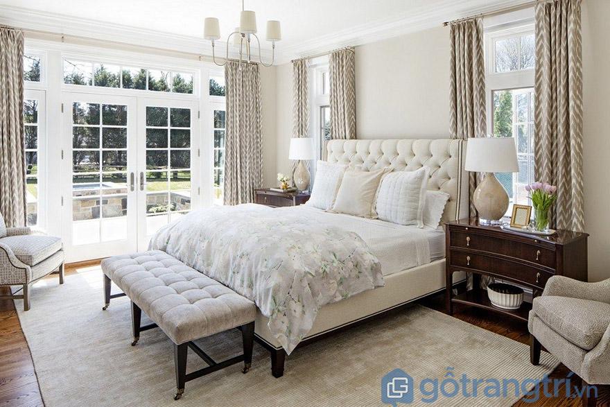 giường cưới tân cổ điển