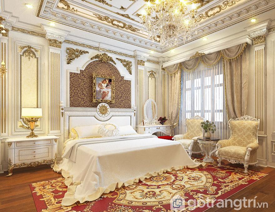 Giường ngủ MDF 1m8