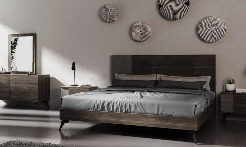 Giường gỗ MDF 1m8 hiện đại