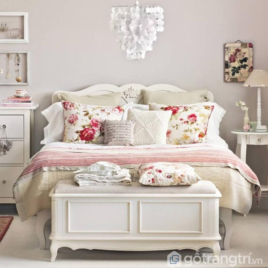 Giường ngủ MDF 1m8 Vintage