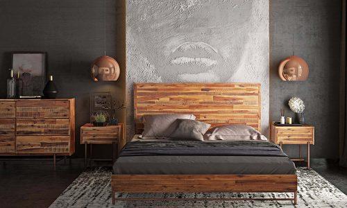 4 lưu ý giúp chọn mua giường gỗ keo 1m8 cực chuẩn