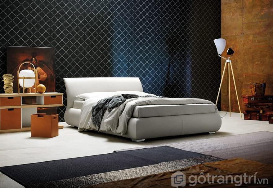 Giường ngủ cao cấp HCM bọc nệm