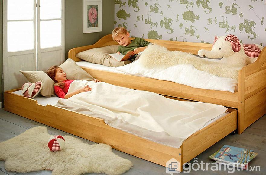 Giường ngủ cao cấp HCM gỗ