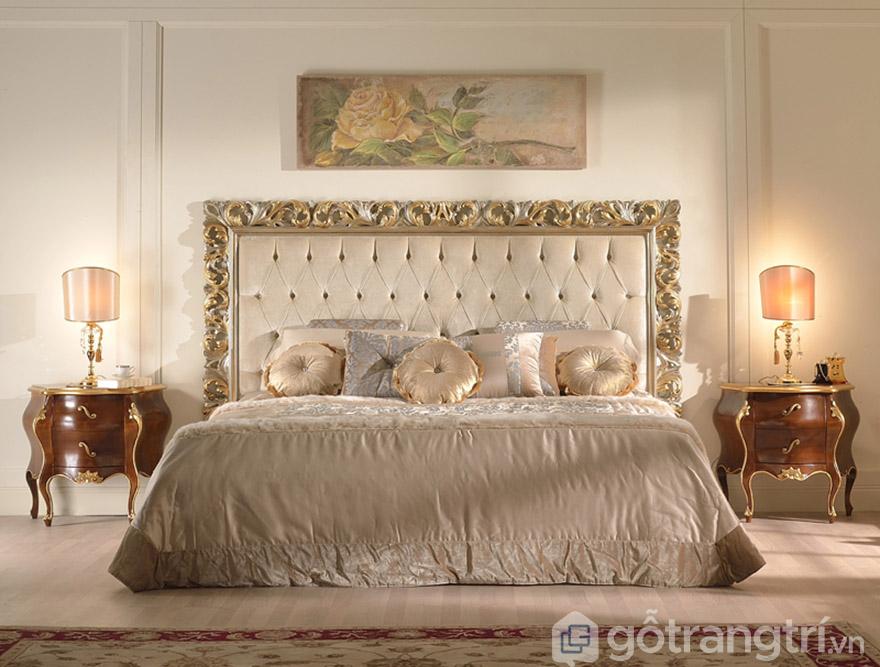 giường hoàng gia đẹp