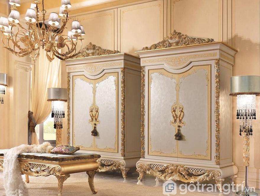 Tủ quần áo hoàng gia