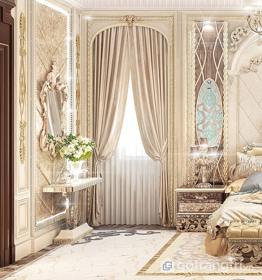 sản phẩm đi kèm giường ngủ hoàng gia giá rẻ