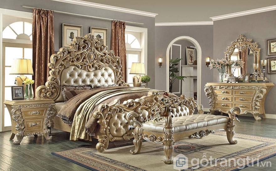 giường ngủ hoàng gia giá rẻ