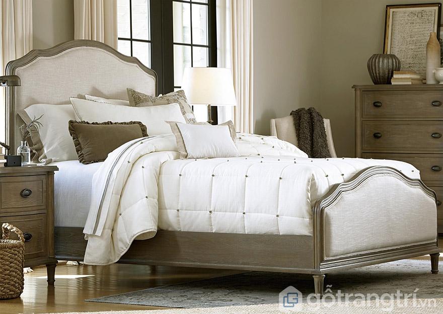 Giường ngủ tân cổ điển giá rẻ