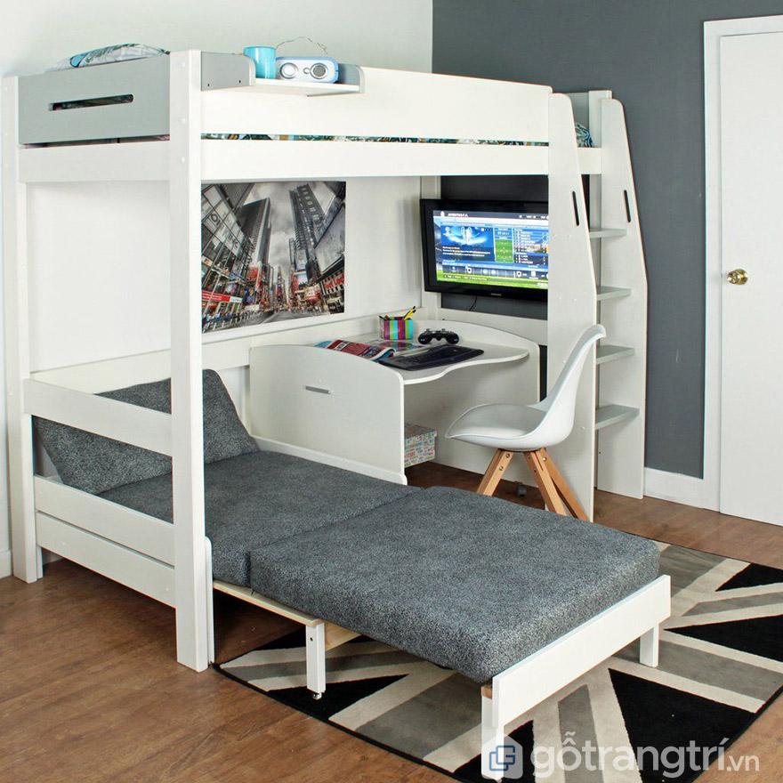 giường ngủ thông minh cho phòng nhỏ