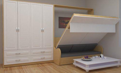 Săn ngay giường ngủ thông minh cho phòng nhỏ đẹp tuyệt đỉnh