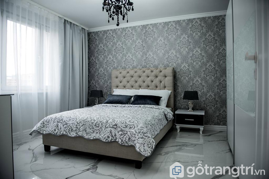giường tân cổ điển đê la thành