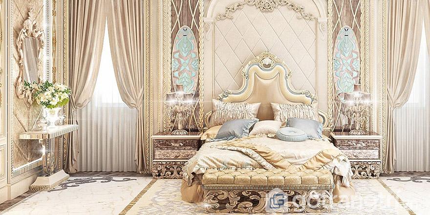 Mẫu giường cưới Châu Âu đẹp